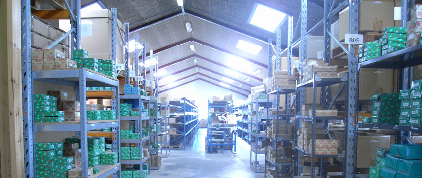 One of our warehouses in Loesning