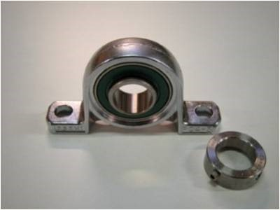 6474005, Asahi bearing MUP 005-U2 w. SS excenter collar and FDA  grease